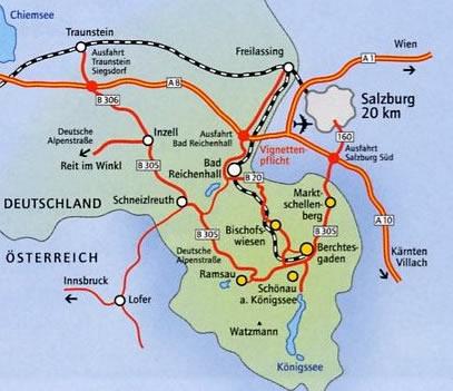 Berchtesgadener Land Karte.Urlaub Am Bergbauernhof In Marktschellenberg Zwischen Salzburg Und